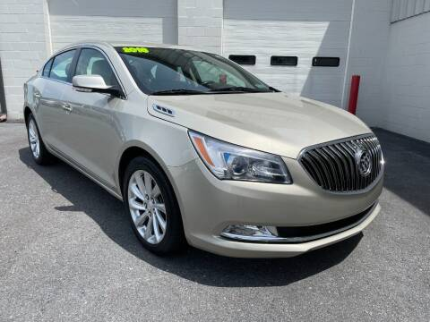 2016 Buick LaCrosse for sale at Zimmerman's Automotive in Mechanicsburg PA
