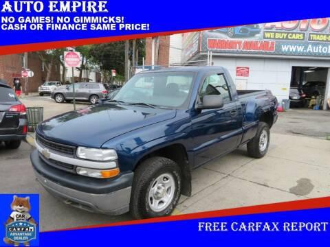 2002 Chevrolet Silverado 1500 for sale at Auto Empire in Brooklyn NY