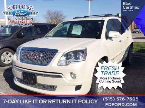 2012 GMC Acadia for sale at Fort Dodge Ford Lincoln Toyota in Fort Dodge IA