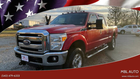 2011 Ford F-250 Super Duty for sale at MBL Auto in Fredericksburg VA