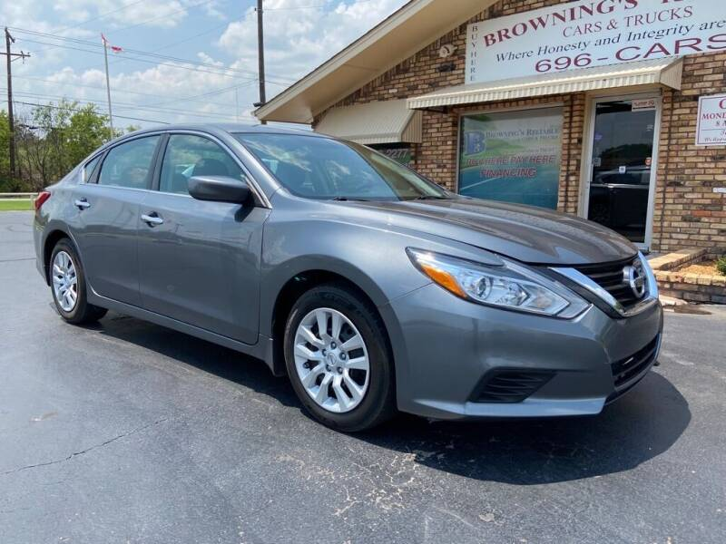 2016 Nissan Altima for sale at Browning's Reliable Cars & Trucks in Wichita Falls TX