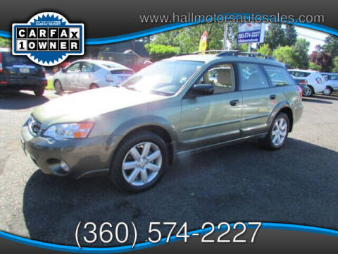 2006 Subaru Outback for sale at Hall Motors LLC in Vancouver WA