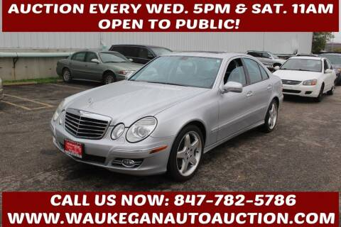 2007 Mercedes-Benz E-Class for sale at Waukegan Auto Auction in Waukegan IL