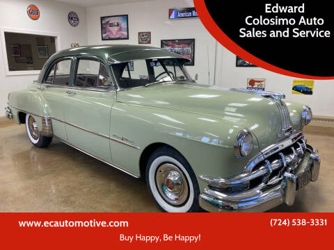 1950 Pontiac Chieftain for sale at Edward Colosimo Auto Sales and Service in Evans City PA