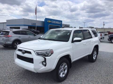 2019 Toyota 4Runner for sale at LEE CHEVROLET PONTIAC BUICK in Washington NC