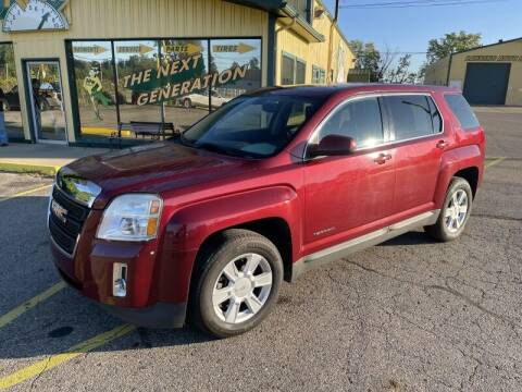 2011 GMC Terrain for sale at RPM AUTO SALES in Lansing MI