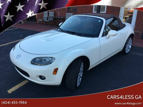 2006 Mazda MX-5 Miata for sale at Cars4Less GA in Alpharetta GA