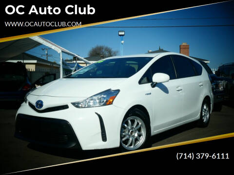 2016 Toyota Prius v for sale at OC Auto Club in Midway City CA