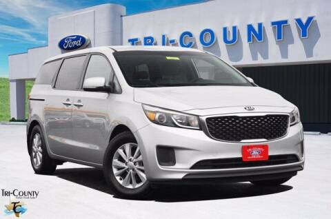 2018 Kia Sedona for sale at TRI-COUNTY FORD in Mabank TX