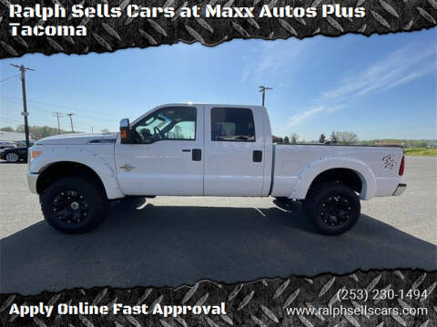 2011 Ford F-250 Super Duty for sale at Ralph Sells Cars at Maxx Autos Plus Tacoma in Tacoma WA