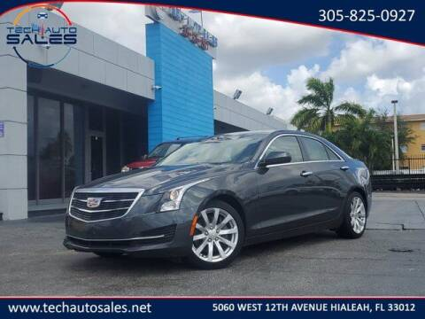 2018 Cadillac ATS for sale at Tech Auto Sales in Hialeah FL