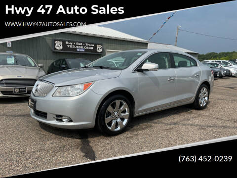 2011 Buick LaCrosse for sale at Hwy 47 Auto Sales in Saint Francis MN