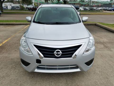 2018 Nissan Versa for sale at Nation Auto Cars in Houston TX
