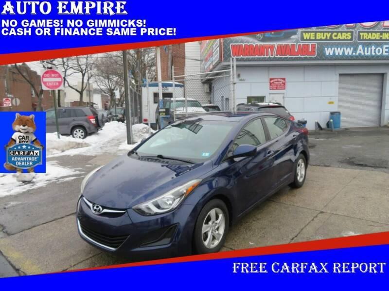 2014 Hyundai Elantra for sale at Auto Empire in Brooklyn NY