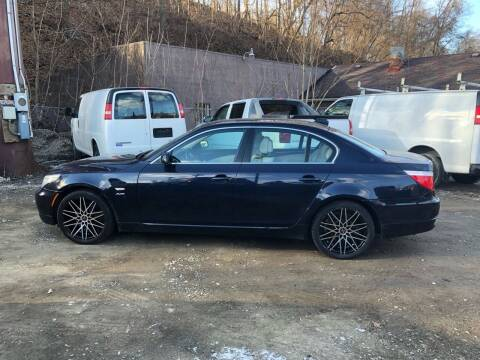 2009 BMW 5 Series for sale at Compact Cars of Pittsburgh in Pittsburgh PA