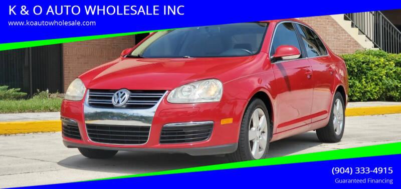 2009 Volkswagen Jetta for sale at K & O AUTO WHOLESALE INC in Jacksonville FL