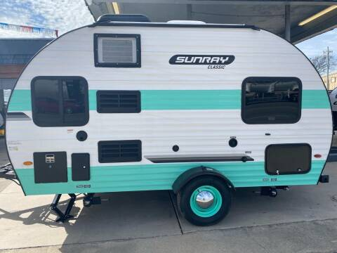 2021 SUNRAY 149 for sale at ROGERS RV in Burnet TX