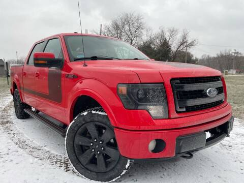 2013 Ford F-150 for sale at Trocci's Auto Sales in West Pittsburg PA
