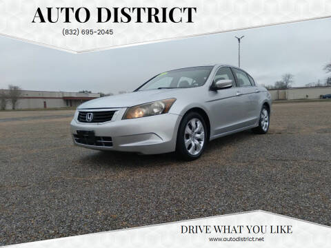 2009 Honda Accord for sale at Auto District in Baytown TX