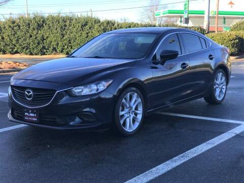 2015 Mazda MAZDA6 for sale at RUSH AUTO SALES in Burlington NC