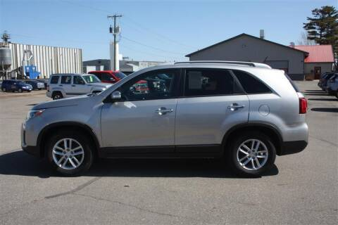 2015 Kia Sorento for sale at SCHMITZ MOTOR CO INC in Perham MN