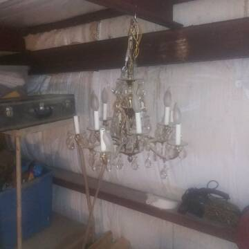 chandeliers antique for sale at BENHAM AUTO INC - Peace of Mind Treasures and More Store in Lubbock TX