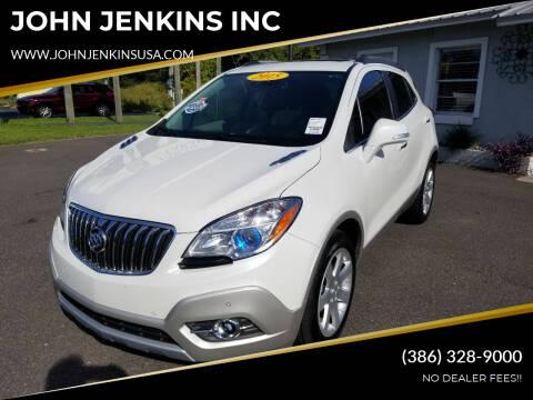 2015 Buick Encore for sale at JOHN JENKINS INC in Palatka FL