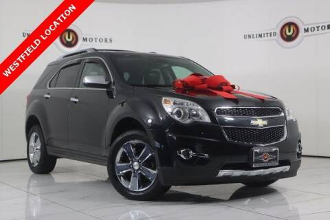 2013 Chevrolet Equinox for sale at INDY'S UNLIMITED MOTORS - UNLIMITED MOTORS in Westfield IN
