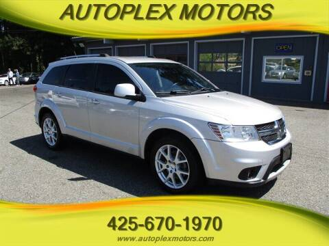 2013 Dodge Journey for sale at Autoplex Motors in Lynnwood WA