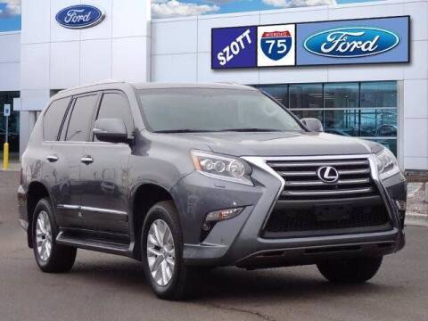 2018 Lexus GX 460 for sale at Szott Ford in Holly MI