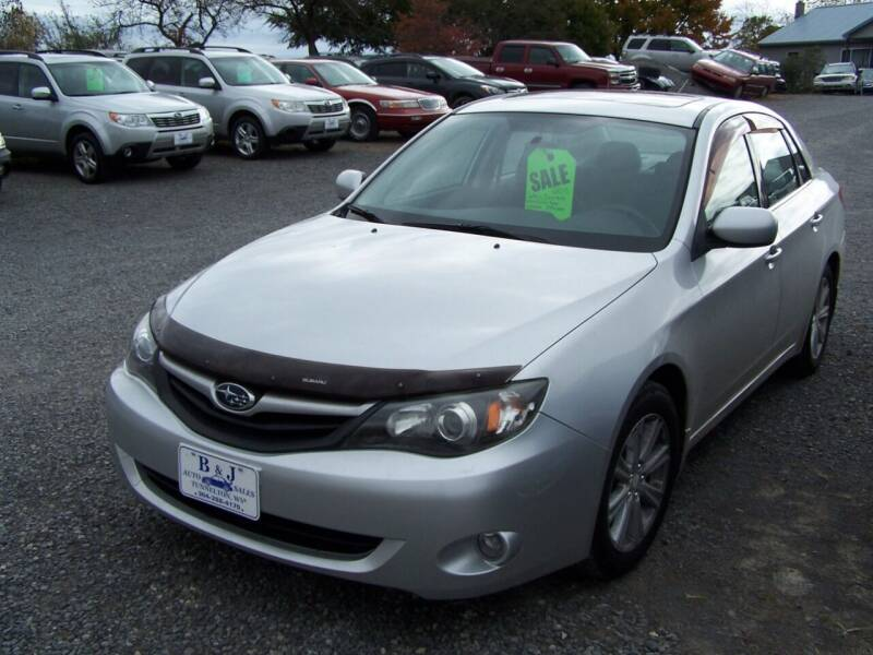 2010 Subaru Impreza for sale at B & J Auto Sales in Tunnelton WV