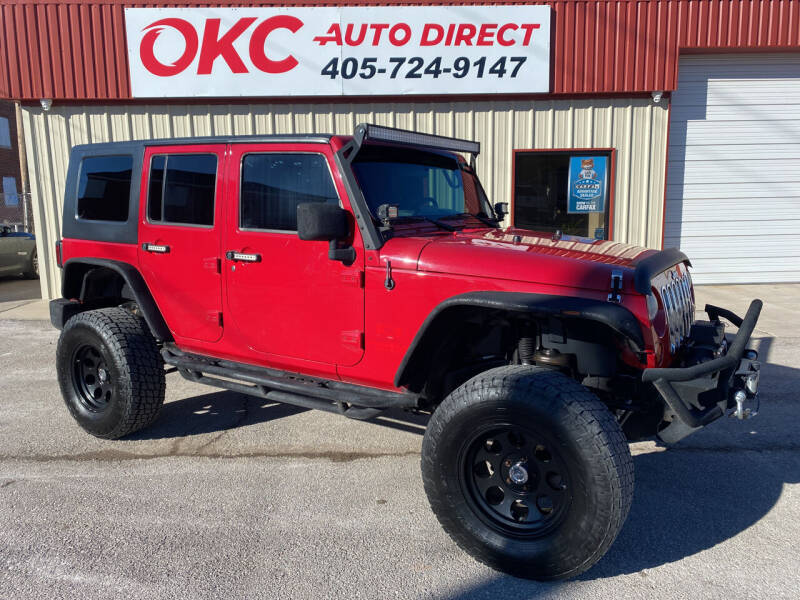 2008 Jeep Wrangler Unlimited for sale at OKC Auto Direct in Oklahoma City OK