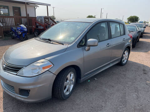 2011 Nissan Versa for sale at PYRAMID MOTORS - Fountain Lot in Fountain CO
