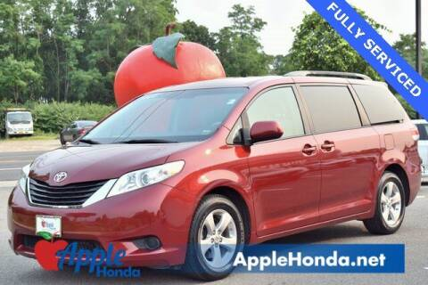 2012 Toyota Sienna for sale at APPLE HONDA in Riverhead NY