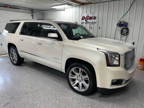 2015 GMC Yukon XL for sale at D-Cars LLC in Zeeland MI