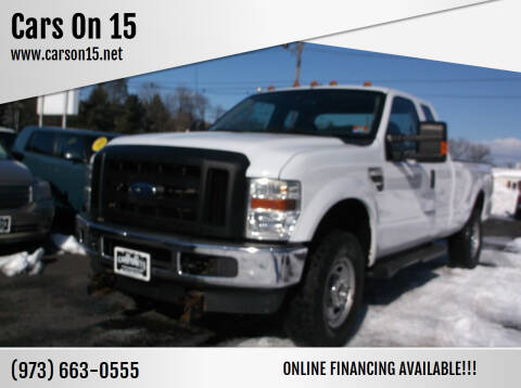 2010 Ford F-350 Super Duty for sale at Cars On 15 in Lake Hopatcong NJ