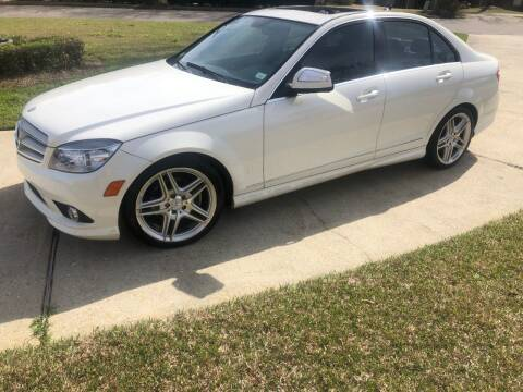 2009 Mercedes-Benz C-Class for sale at Bavarian motor Group LLC in Dothan AL