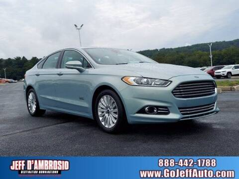 2013 Ford Fusion Energi for sale at Jeff D'Ambrosio Auto Group in Downingtown PA