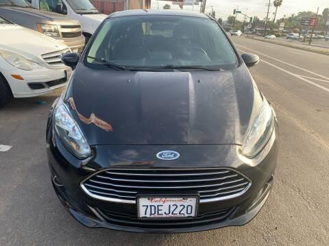 2014 Ford Fiesta for sale at Aria Auto Sales in El Cajon CA