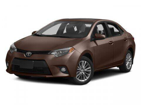 2014 Toyota Corolla for sale at HILAND TOYOTA in Moline IL