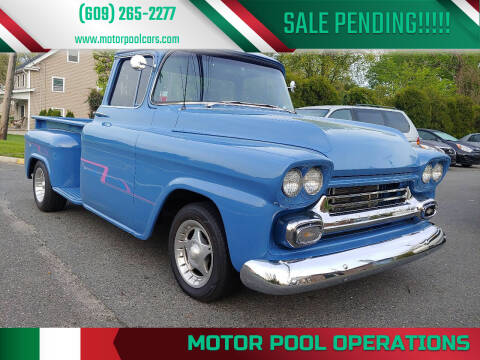 1959 Chevrolet Apache for sale at Motor Pool Operations in Hainesport NJ