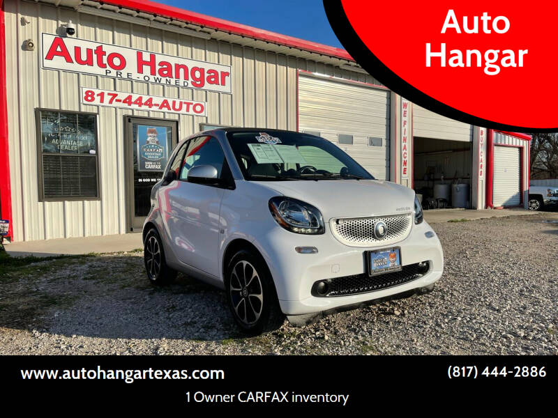2017 Smart fortwo electric drive for sale at Auto Hangar in Azle TX