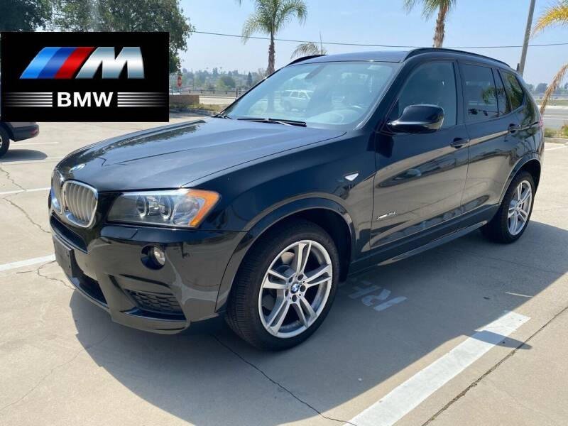 2011 BMW X3 for sale at 7 Auto Group in Anaheim CA