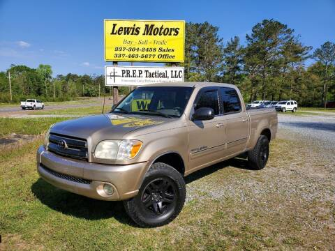 2005 Toyota Tundra for sale at Lewis Motors LLC in Deridder LA