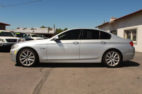 2011 BMW 5 Series for sale at Epic Auto in Idaho Falls ID