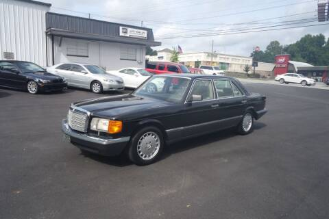 1989 Mercedes-Benz 420-Class for sale at E-Motorworks in Roswell GA