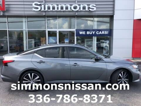 2019 Nissan Altima for sale at SIMMONS NISSAN INC in Mount Airy NC