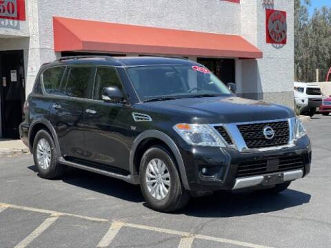2018 Nissan Armada for sale at Brown & Brown Wholesale in Mesa AZ