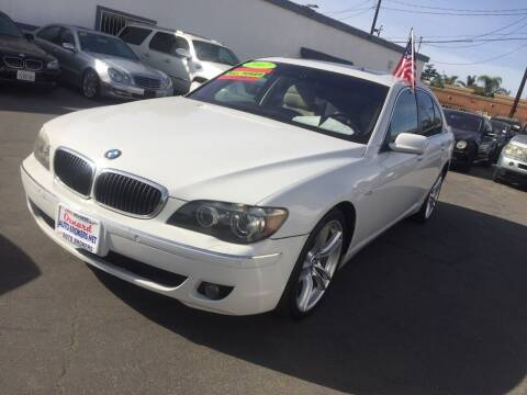 2007 BMW 7 Series for sale at Oxnard Auto Brokers in Oxnard CA