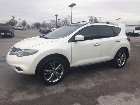 2012 Nissan Murano for sale at City Auto in Murfreesboro TN